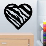 Zebra Wall Decals